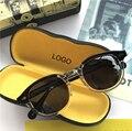 Lemtosh Sonnenbrille Polarisierte Objektiv Männer Frauen Johnny Depp Sonnenbrille Luxus Marke Vintage Acetat Brille Rahmen Top qualität 008