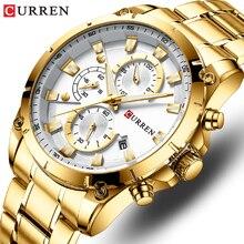 CURREN Top Watch Men Brand Quartz Luxury