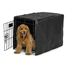 Dustproof Sunscreen Water Resistance Kennel Dog Cage Cover B