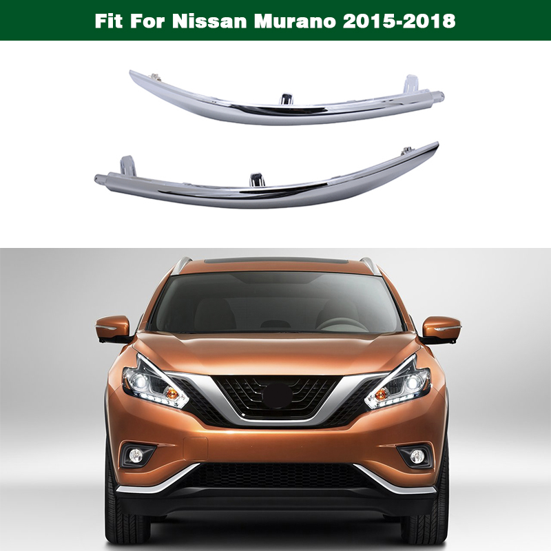 Outer Chrome Bumper Trim For 2015-2016 Nissan Murano Rear Bumper Molding RH