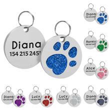 Pendant Engraved Custom Personalized Stainless-Steel Id-Tag Collar-Accessories Puppy