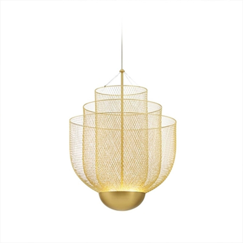 111V~240V Post Modern Decor Living Room Pendant Lights Luxury Gold Hotel Hall Living Room Pendant Lamp Kitchen Bar  Art Hanglamp