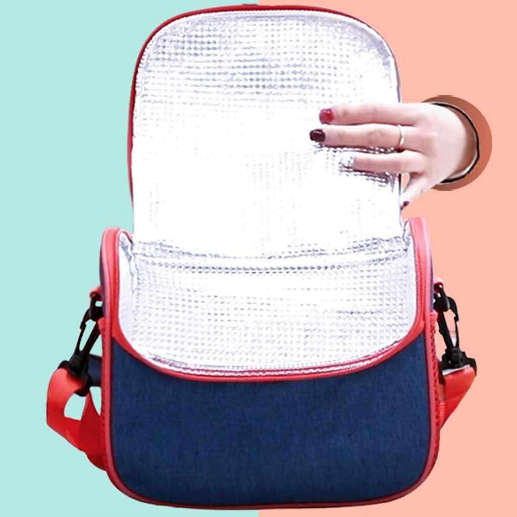 女性ショルダーバッグファッションユニセックス屋外ファッションシンプルなスタイル大容量防水ランチバッグフラップ正方形の女性のハンドバッグ #8