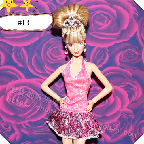 30cm Doll Dress Fashion Clothes handmade outfit For Barbie Doll Accessories Baby Toys Best Girl' Gift 9