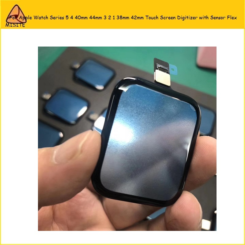 1PC Tested Touch Screen Panel For A pple Watch Series 5 4 40mm 44mm 3 2 1 38mm 42mm model Digitizer with Sensor Front Glass Lens image