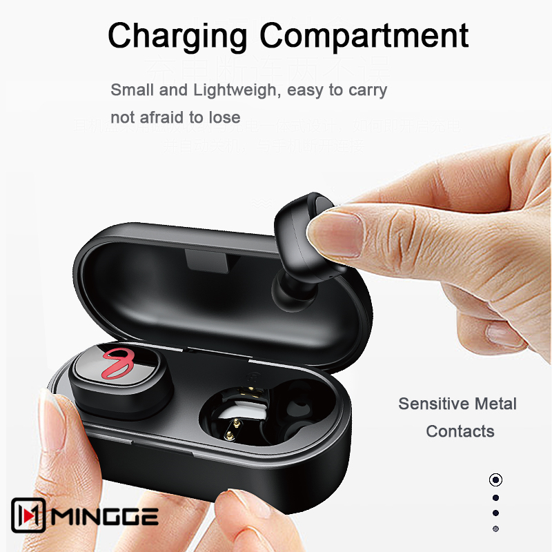 2019 New Original TWS6 <font><b>Bluetooth</b></font> <font><b>5.0</b></font> Wireless Stereo earbuds better than <font><b>i11</b></font> i12 i7S i9s <font><b>tws</b></font> i10 <font><b>tws</b></font> for air dots iphoneXS MAX image