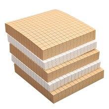 Bloc-notes à grille horizontale vierge bloc-notes planificateur mignon N fois le poster collant fournitures de papeterie de bureau scolaire livraison directe