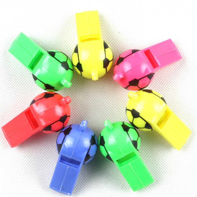 Whistle Color Baby Gift Children Plastic Toy Kindergarten School Game Blowing