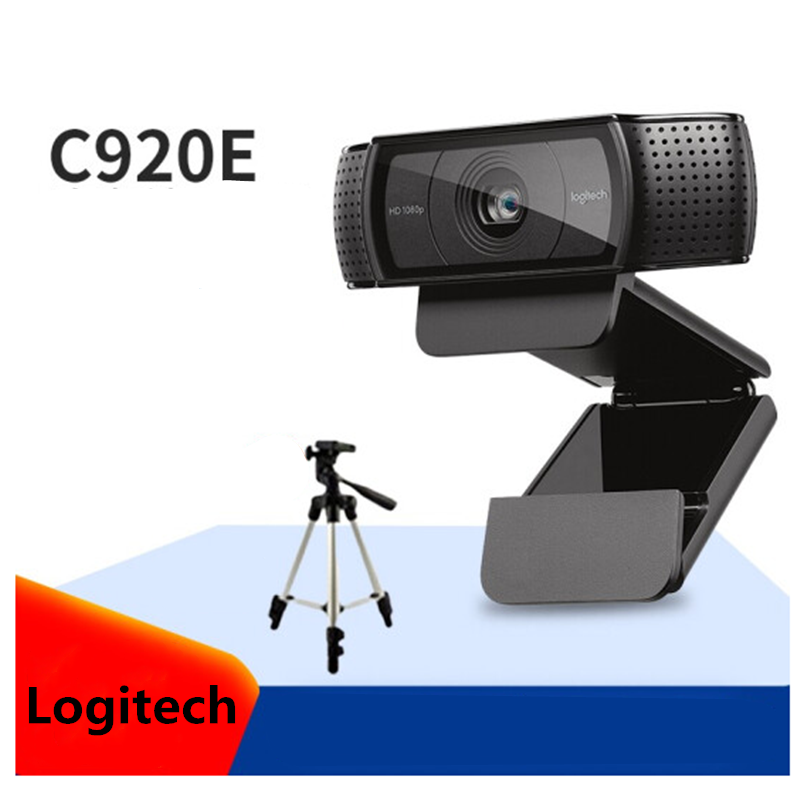 Original Logitech C920e HD Webcam 1080P Widescreen Video Calling And Recording Web Camera For Computer , C920 Upgrade Version