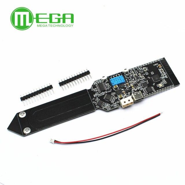 ESP32 DHT11 CP2104 WIFI Bluetooth Temperatur Feuchtigkeit Boden Feuchtigkeit Sensor Erkennung Modul Für Arduino 18650 Batterie Schild