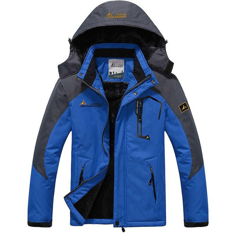 New 2020 Thick Warm Outwear Winter Jacket Men Windproof Waterproof Hood Mens Jackets Plus Size L-6XL Homme Casual Fit Overcoat