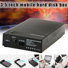 Hard-Drive Enclosure External-Box 8TB Ac100v-240v Serial-Port USB3.0 Large-Capacity Mobile