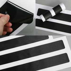 Image 4 - 4PCS For Land Rover Discovery 3 4 2 Freelander 2 1 Evoque Velar Car Door Sill Plate Stickers Car Tuning Accessories
