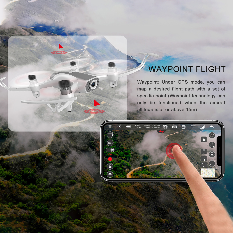 Квадрокоптер Syma W1 PRO Brushless GPS WIFI FPV 4K RTF 2.4G купить с доставкой по Москве, Московской области и России