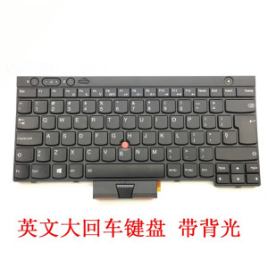 New original ThinkPad Lenovo t430 x230 x230t t430s t530 w530 L430 English carriage return backlight keyboard