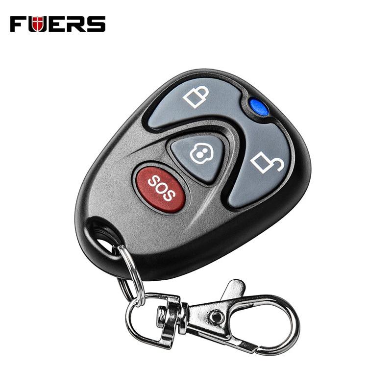 High Quality 433Mhz Keychain Remote Control Key Fob For G90E G90B Security Wireless Alarm System