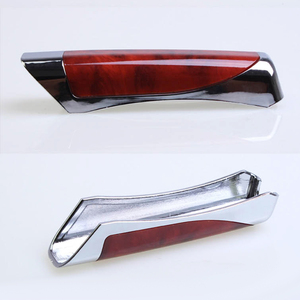 Image 5 - Universal Fashion Gears for Decorations Wooden Anti slip Handbrake Covers Auto Gear Shift Collars