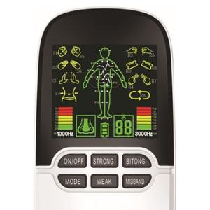 Image 2 - 2 в 1 электрический стимулятор нерва, массажер для носа, для лечения ринитов, синусита, аллергии, лазерная терапия, лечение с электродными прокладками