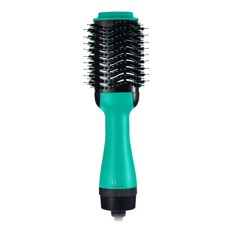 New 2 In 1 Multifunctional Hair Dryer Rotating Hair Brush Roller Rotate Styler Comb Straightening Curling Hot Air Comb Eu Plug