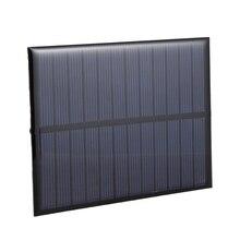 """Панели солнечные модуль для Батарея сотовый телефон Зарядное устройство, модель """"Сделай своими руками"""": 112X84 мм 6V 1,1 W"""