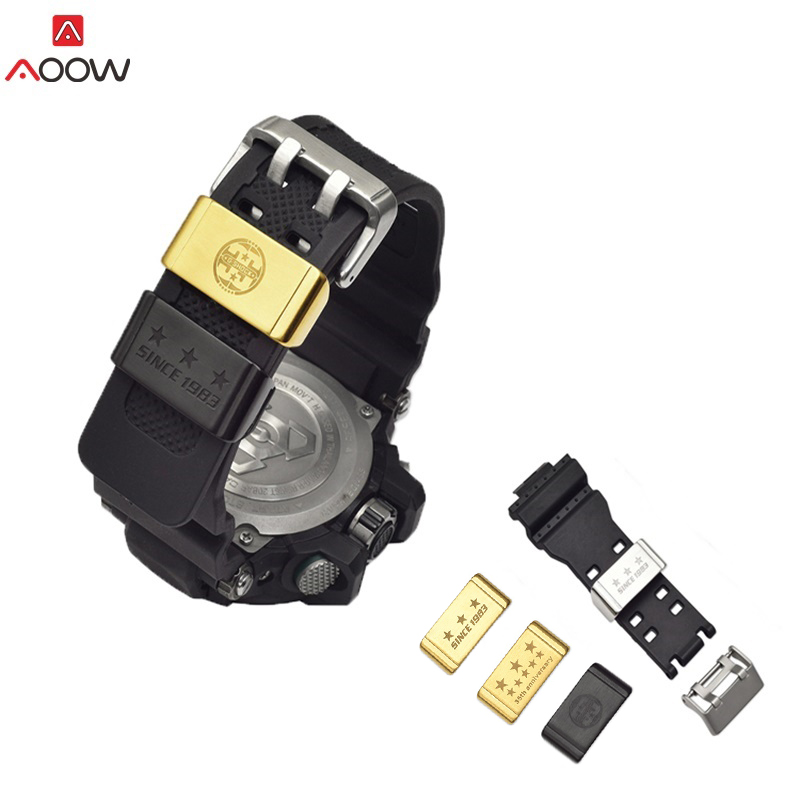 Metal Loop Holder Locker Bezel Ring For Casio G-SHOCK GA-110 GD-100 GG-1000 DW-5600 DW-6900 Watchband Accessories 18/20/22mm