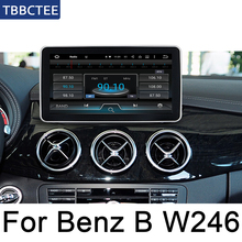 Android 7.0 up Car radio GPS For Mercedes Benz A Class W176 2015~2019 NTG multimedia player Navigation WiFi BT HD Screen Stereo цена