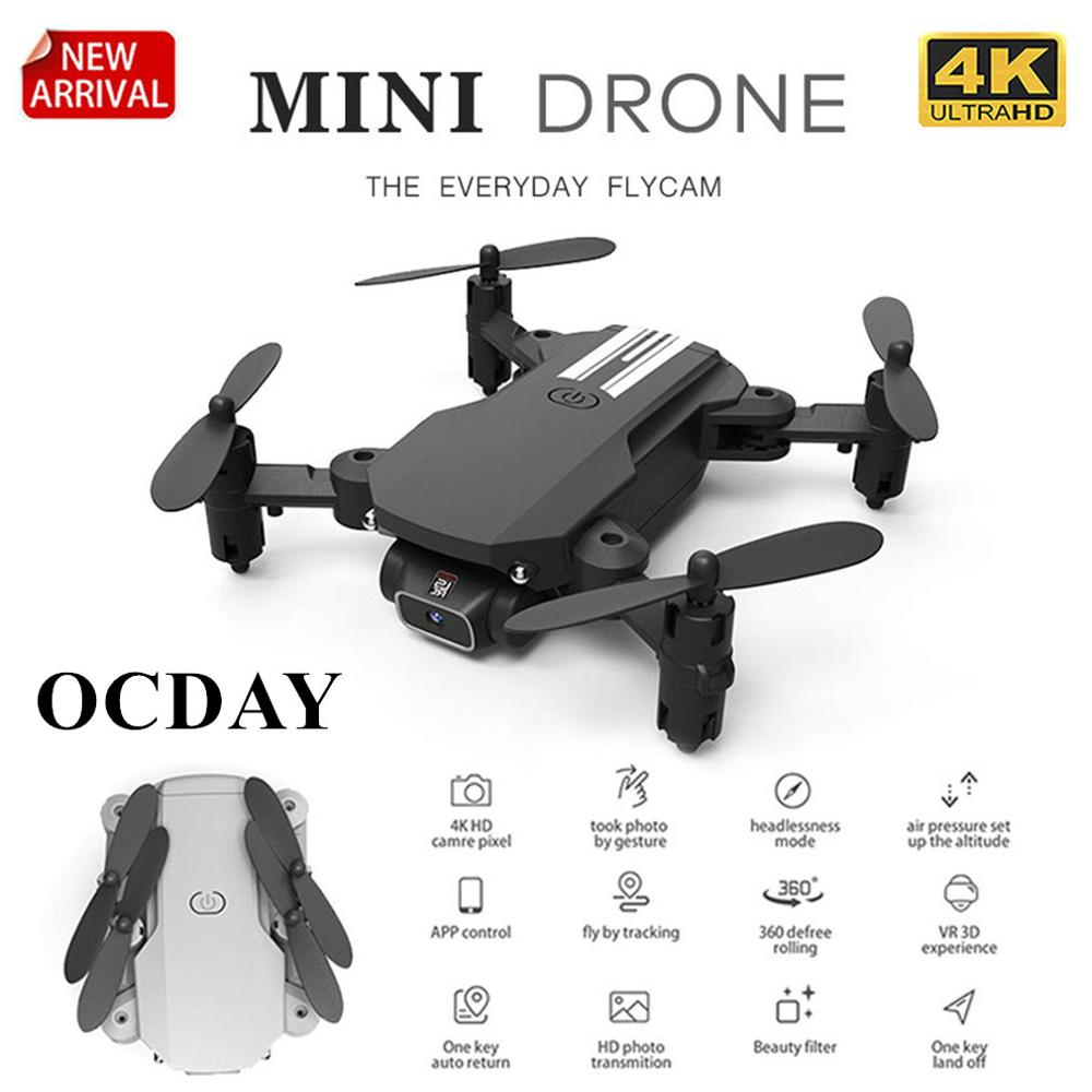 2020 New LS-Mini Drone 4K 1080P HD Camera WiFi Fpv Air Pressure Altitude Keeping Aerial Hold Foldable Quadcopter RC Drone Toy