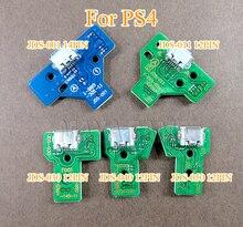 100 adet JDS030 JDS001 JDS011 JDS040 JDS055 Playstation 4 denetleyicisi için USB şarj kartı portu değiştirme PS4 denetleyici