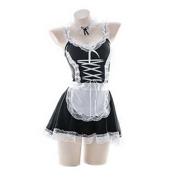 Babydoll Dress Uniform Costume  1