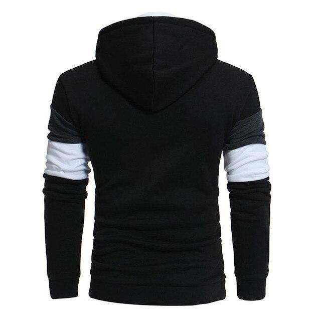 Men's hoodies Casual Warm Long Sleeve Men's sweatshirt Pullover Hooded Male Sweatshirt Top Outwear streetwear 1
