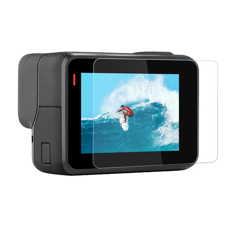 Screen Protector for GoPro Hero 7 Black 6 5 2018 Accessories Protective Film Tempered Glass for Go Pro Hero 7 6 5 Action Camera