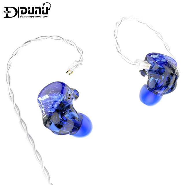 Dunu studio sa3 3ba triplo driver in ear monitor fone de ouvido iem com crossover de 2 vias 2pin 0.78mm cabo removível 3d impresso