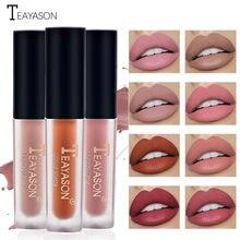 Batom brilho labial de longa duração umidade cosméticos batom vermelho gloss labial à prova dnon água copo antiaderente fosco batom lábios maquiagem