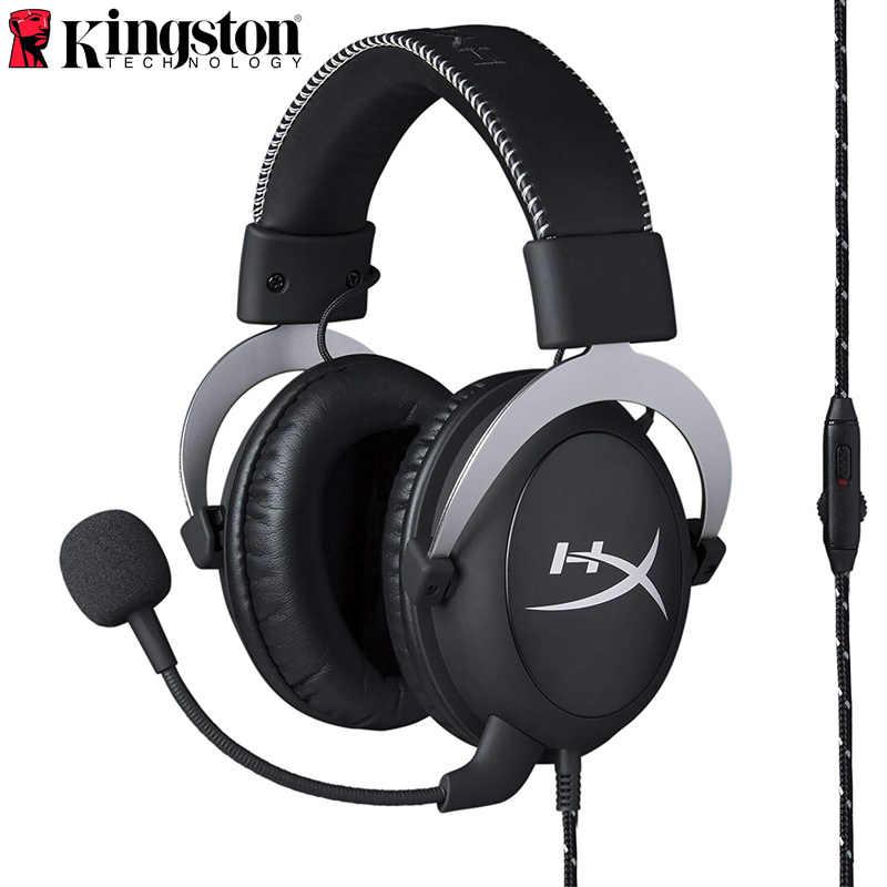 Kingston HyperX chmura rdzeń gamingowy zestaw słuchawkowy nadaje się do komputera tablet z funkcją telefonu słuchawki z mikrofonem chmura seria słuchawki
