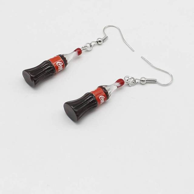 CocaCola Earrings 1
