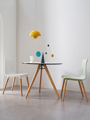 Nordic Simple Discussion Table And Chair Combination Small Table Simple Family Coffee Shop Discussion Table Rest Area Conference