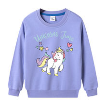 VIDMID baby girls long sleeve clothing sweatshirt kids children cotton cartoon tops clothes girls boys sweatshirt tops P885 cheap without CN(Origin) Casual Fits true to size take your normal size Floral Regular Hoodies Full