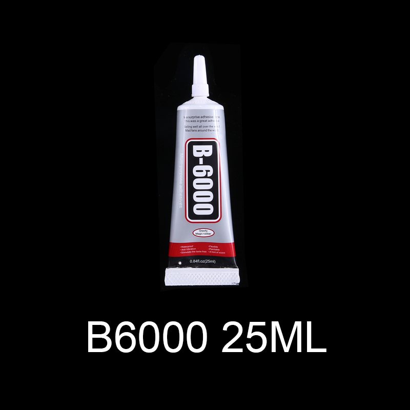 25ml B6000 glue Mobile phone touch screen Superglue B-7000 adhesive telephone glass glue repair point diamond jewelry DIY glue image