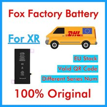 BMT oryginalny 5 sztuk Foxc fabryka baterii do telefonu XR 2942mAh wymiana części naprawa        (nie pokaże 100% zdrowia)