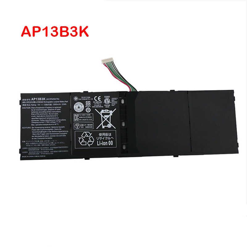 Batería para ordenador portátil, AP13B3K para Acer Aspire V5 R7 V5-572G V5-573G V5-472G V5-473G V5-552G M5-583P V5-572P R7-571 AP13B8K