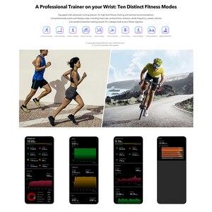 Image 5 - Huawei Honor להקת 5 הגלובלי גרסה חכם להקה עמיד למים AMOLED תצוגת כושר שינה Tracker דם חמצן חכם צמיד שעון