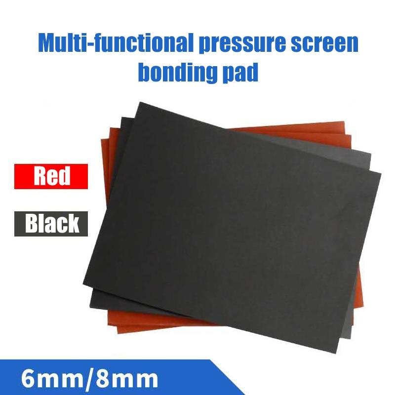High Quality 200*250*8mm Pressing mat Laminating machine silicone pad  soft sponge foam board high temperature resistant pad