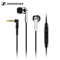 Sennheiser CX 2.00i 3.5mm Wired Earphones with Mic Stereo Sport Headset Line Control Deep Bass Earphone for iPhone iOS Device