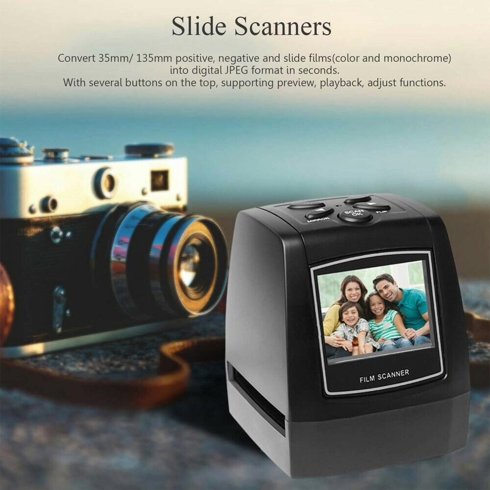 Scanner de Film multifonction Portable Scanner de Film Galin Scanner de couleur et diapositives noires et blanches - 4