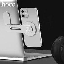 Hoco nuovo supporto magnetico per telefono per iPhone 12 Pro Max supporto per telefono portatile in metallo supporto per schermo supporto laterale supporto per tablet
