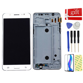 For+Samsung+Galaxy+J5+2016+J510+SM+J510F+J510FN+J510M+J510Y+J510G+DS+Touch+Screen+Digitizer+LCD+Display+Screen+Assembly+Frame