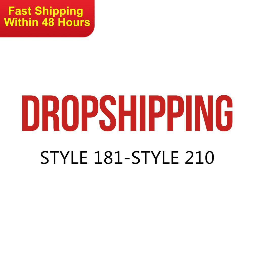 US DROPSHIP LINK ADULT STYLE 181-STYLE 210