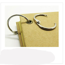 5PCS 63MM iron ring buckle removable opening movable binding multipurpose stationery album book