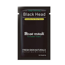 Shills Black Mask Face Care จมูกสิว Blackhead Remover Minerals Pore Cleanser Mask BLACK HEAD Strip maquiagem 70(China)