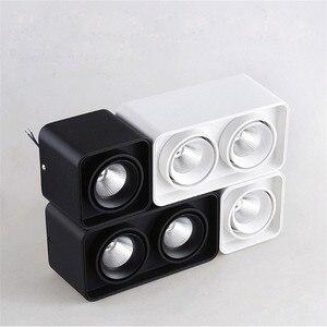 Image 4 - 1 stücke Platz COB LED dimmbare Downlights 10W 15W 20W 30W Oberfläche Montiert LED Decke Lampen spot Licht LED Downlights AC85V 265V